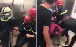 Bị 'giam' 20 phút trong tháng máy mới được giải cứu, nhiều phụ nữ hoảng loạn