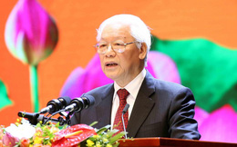 Tổng Bí thư đọc diễn văn kỷ niệm 50 năm thực hiện Di chúc Bác Hồ