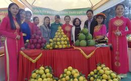 180 gian hàng góp mặt trong ngày Hội cam, bưởi huyện Lục Ngạn