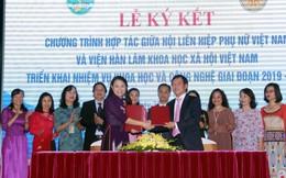 Tăng cường phối hợp, chia sẻ kết quả khoa học, đề xuất chính sách cho phụ nữ