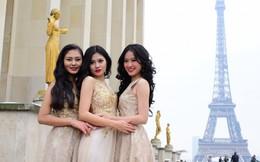 Top 3 Miss Photo 2017 chụp ảnh thời trang giữa trời Paris âm 2 độ