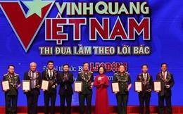 Chương trình 'Vinh quang Việt Nam' 2019 tôn vinh 19 tập thể, cá nhân