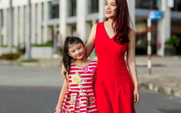 Trương Ngọc Ánh cùng con gái sành điệu dạo phố
