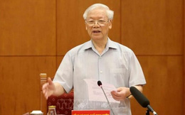 Tổng Bí thư Nguyễn Phú Trọng: Báo cáo không chỉ đánh giá 5 năm mà phải nhìn lại hơn 30 năm đổi mới