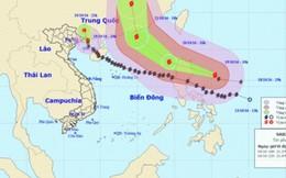 Bão số 7 suy yếu, miền Bắc sẽ mưa to từ đêm 19/10