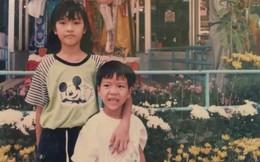 Á hậu Quốc tế Thúy Vân tiết lộ các hình ảnh thuở ấu thơ