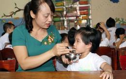 Cải thiện dinh dưỡng cho gần 2.600 trẻ ở Thanh Hóa