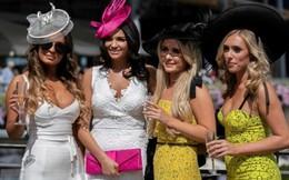 Ngắm những chiếc mũ độc đáo tại lễ hội đua ngựa Royal Ascot