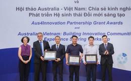 3 dự án đoạt giải thưởng Đối tác Đổi mới Sáng tạo Aus4Innovation