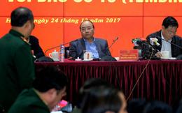 Thủ tướng: Dừng các cuộc họp không cần thiết để chống bão