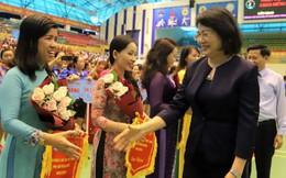 Phó Chủ tịch nước dự khai mạc liên hoan thể dục thể thao Phụ nữ toàn quốc