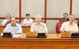 Tổng Bí thư Nguyễn Phú Trọng chủ trì họp Bộ Chính trị định kỳ