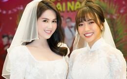 Ngọc Trinh, Diệu Nhi mặc áo cô dâu ra mắt phimVu quy đại náo