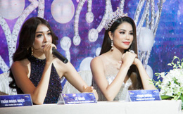 Vương miện của hoa hậu hoàn vũ Việt Nam gắn 10 đại trân châu