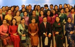 Phụ nữ Việt Nam-Lào-Campuchia xây đắp quan hệ hữu nghị