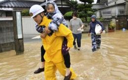 Mưa lũ kinh hoàng tại Nhật Bản khiến gần 100 người thiệt mạng