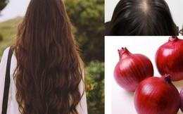 Công thức giúp tóc dày và khỏe hơn từ hành tây