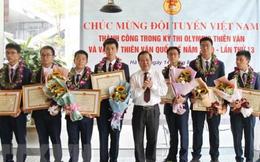 Học sinh Việt Nam giành 7 huy chương Olympic quốc tế Thiên văn học
