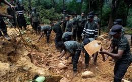 220 gia đình mất tích do lở đất ở Sri Lanka