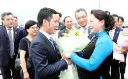 Chủ tịch Quốc hội Nguyễn Thị Kim Ngân thăm chính thức nước CHND Trung Hoa