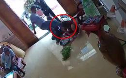 Clip ghi lại cảnh nhóm côn đồ xông vào nhà hành hung phụ nữ phải nhập viện