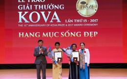 Giải thưởng KOVA Sống đẹp vinh danh các cô giáo cứu trẻ thoát lũ