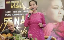 Danh ca Khánh Ly làm chuỗi chương trình kỷ niệm 55 năm ca hát