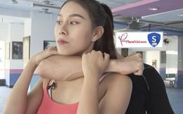 Cách phòng vệ khi bị khóa cổ bằng tay từ phía sau