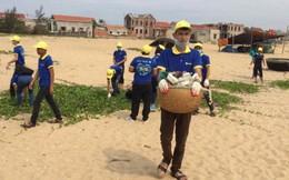 Chiến dịch làm sạch biển 4 tỉnh miền Trung