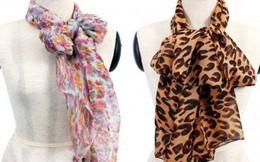 Bộ sưu tập 'khăn voan hoa' của TS Thẩm Hoàng Điệp