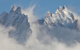 Ngắm thiên nhiên đẹp hút hồn chụp từ đỉnh Alps