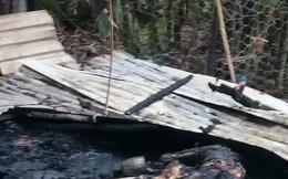 Bắt kẻ chém vợ, phóng hỏa đốt nhà khiến hai mẹ con chị vợ tử vong