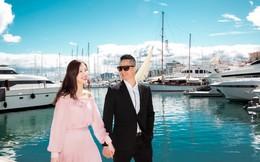 Hoa hậu Áo dài Phí Thùy Linh phủ nhận chuyện dựa dẫm chồng