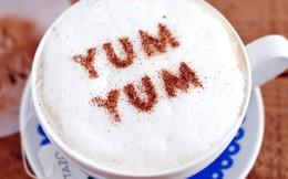 Cách ghi lời nhắn trên ly cà phê