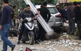 Hà Nội: 2 vợ chồng đi xe máy tử vong thương tâm dưới gầm ô tô 'điên'