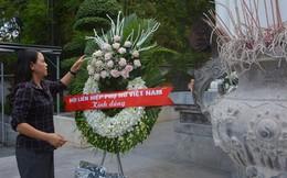 Hội LHPNVN dâng hương tưởng niệm các liệt sĩ tại Khu di tích Ngã ba Đồng Lộc