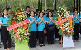 TƯ Hội LHPN Việt Nam về nguồn, dâng hương tại Hà Tĩnh, Quảng Bình, Quảng Trị, Nghệ An