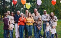 Cuồng phong vì đại gia đình cùng chung một nhà