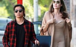 Sau 'ồn ào' ly hôn, Angelina Jolie đưa con nuôi gốc Việt ra phố mua sắm