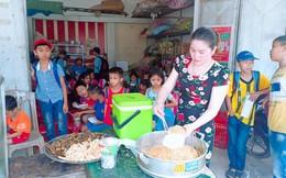 Vợ chồng giáo viên tiếp sức học trò nghèo bằng bữa sáng miễn phí