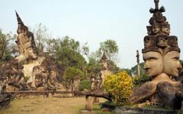 Lạc cõi tượng Phật rêu phong ở đất nước triệu voi