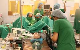 Phá thai cứu bệnh nhân chửa trứng 4 tháng