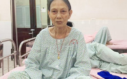 Cụ bà 81 tuổi bị u nang buồng trứng nhưng vẫn âm thầm chịu đựng