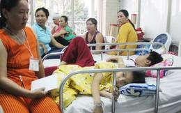 Vụ sập giàn giáo trường học tại TPHCM: Còn 7 học sinh nằm hồi sức cấp cứu