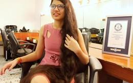 Thiếu nữ 16 tuổi có mái tóc dài nhất hành tinh