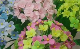 Cách làm hoa cẩm tú cầu bằng đất sét đẹp như hoa thật