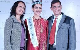 Bà tiên biến Manushi Chillar 'lọ lem' trở thành nữ hoàng sắc đẹp