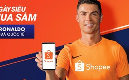 Siêu sao bóng đá C. Ronaldo trở thành Đại sứ thương hiệu của Shopee
