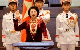 Bà Nguyễn Thị Kim Ngân tuyên thệ nhậm chức