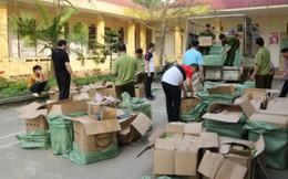 Tiêu hủy gần 100 thùng mỹ phẩm nguồn gốc Trung Quốc